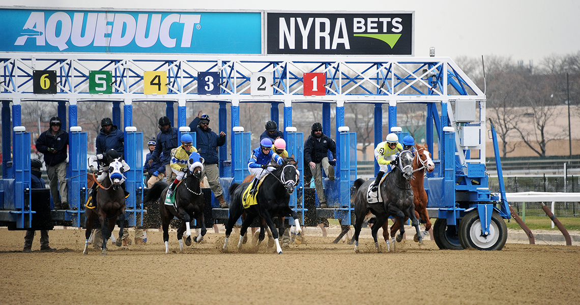Aqueduct: Your Winter Place to Race!